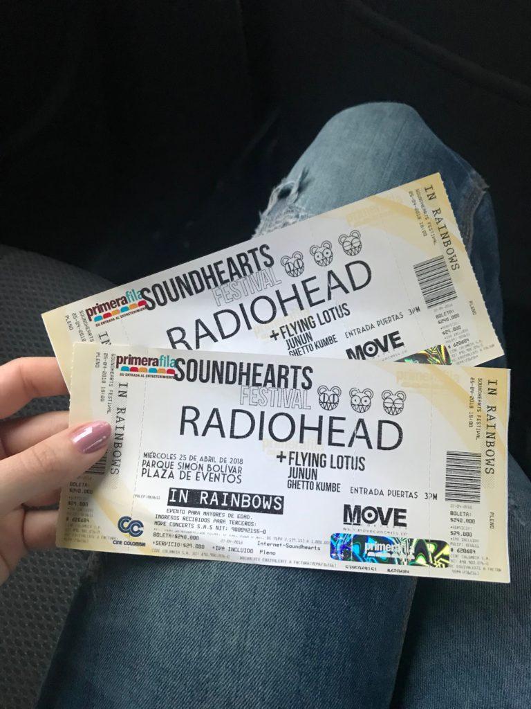 Radiohead Concert Tickets