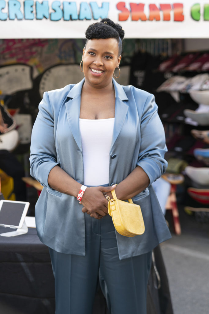 Natasha Rothwell during the show INSECURE
