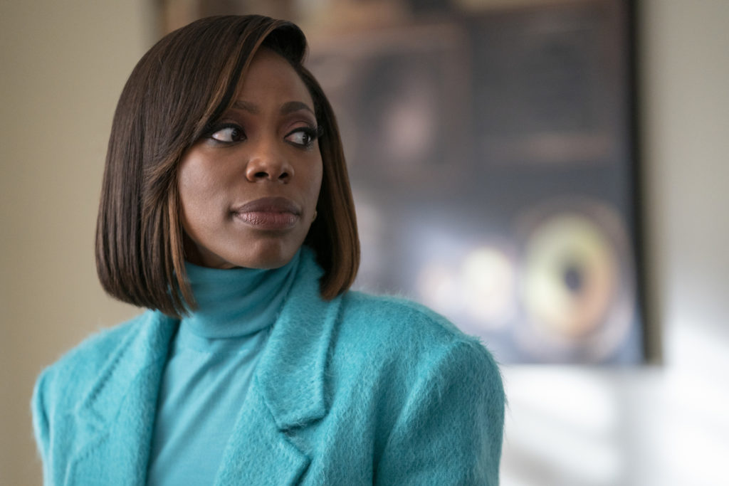 Yvonne Orji scene during show INSECURE