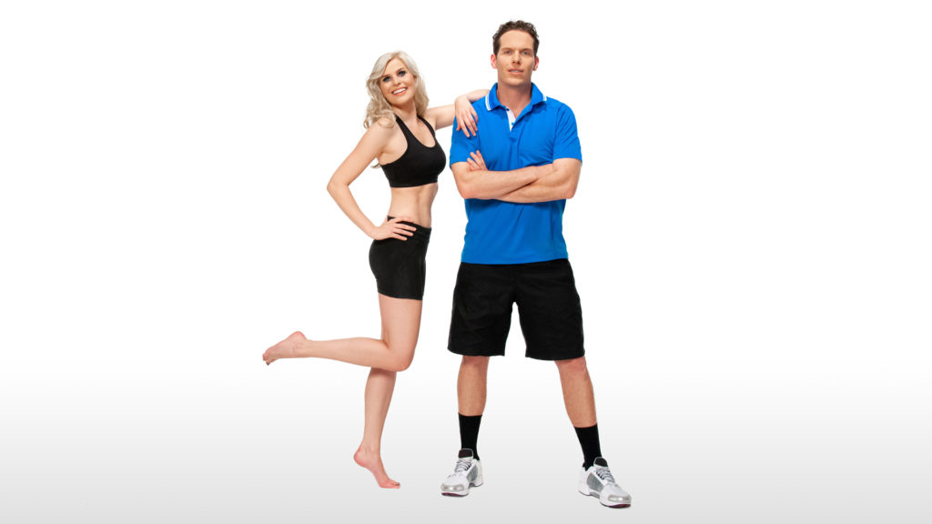 Male and female athlete showing How To Become a Great Athlete