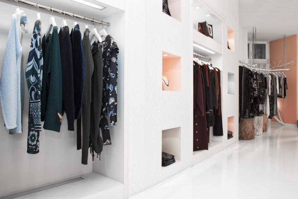 Black Business Owner Fashion Store Interior by Phil Halfmann