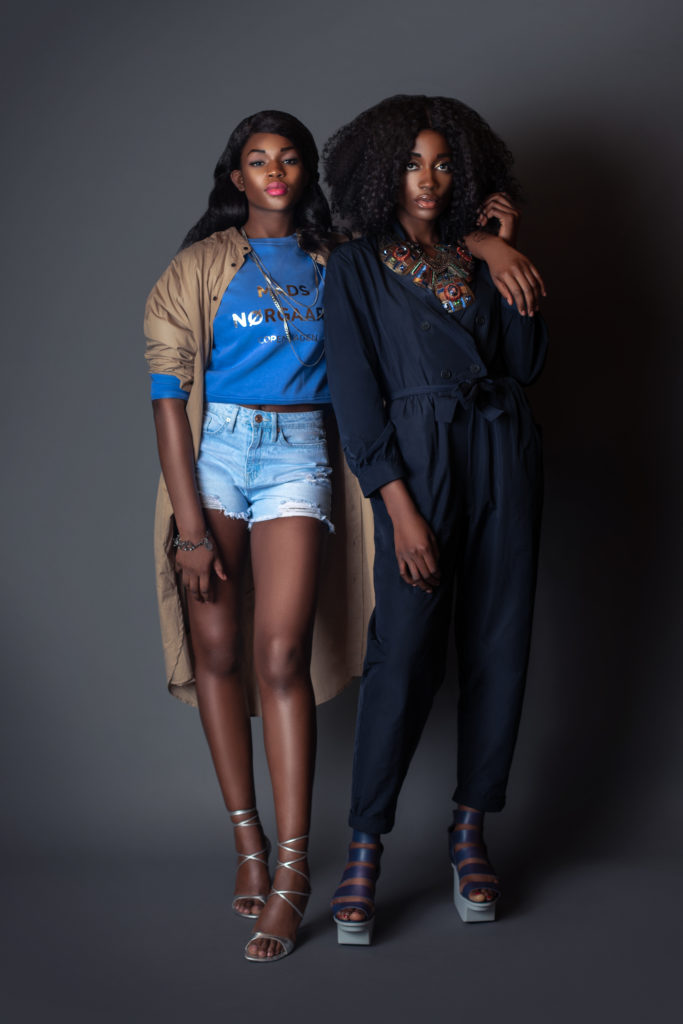 2 Black girls wearing casual clothing for Spring 2021 Fashion Trends