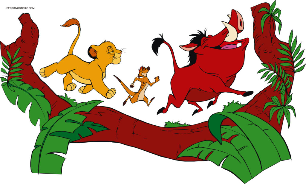 CARTOON LION KING BY PIXY.ORG