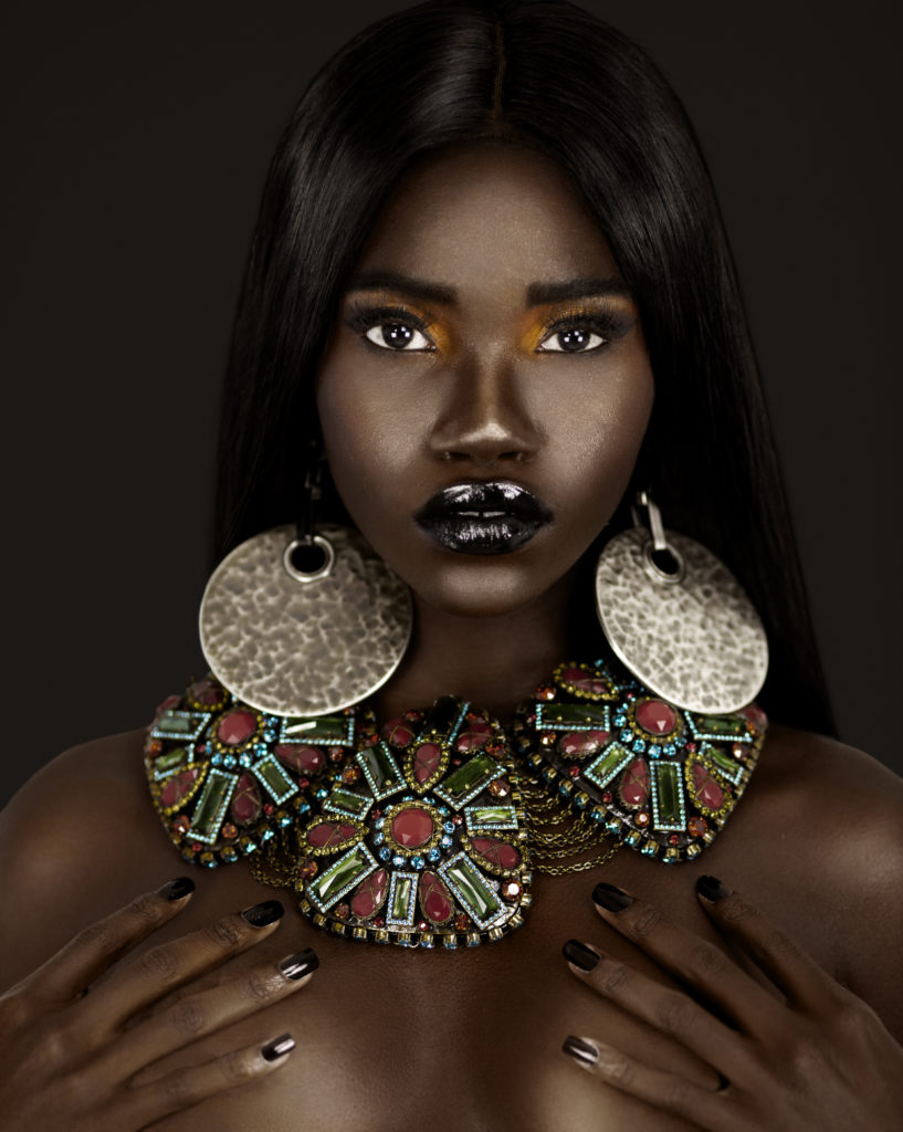 black female in jewelry reference for who are we poem
