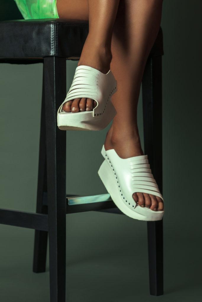 White Summer Sandals for Women