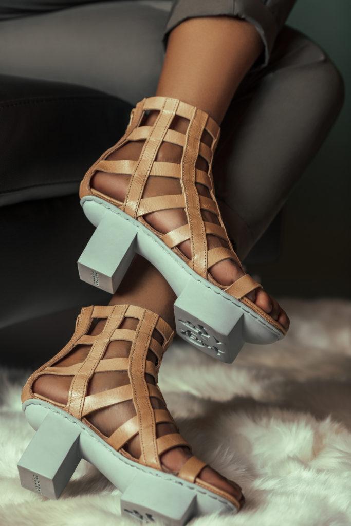 Brown Summer Sandals for Women
