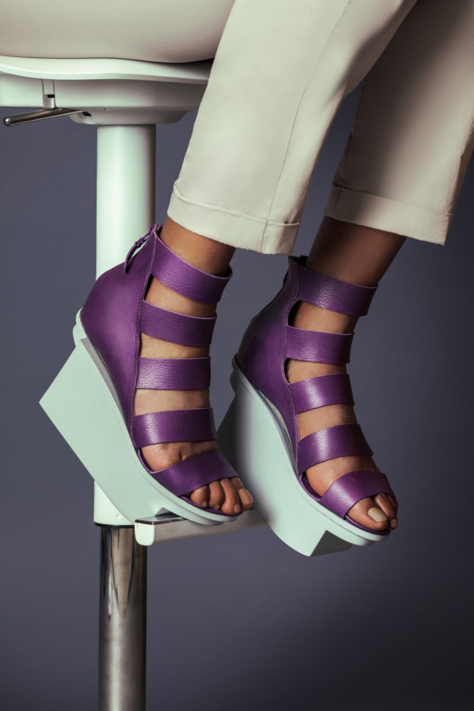 Purple Summer Sandals for Women