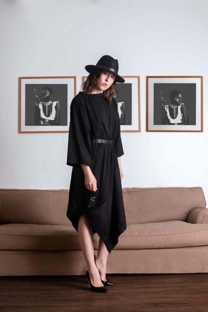 Britta Steffenhagen in Black