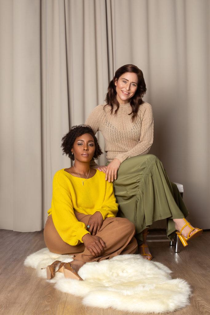 Britta Steffenhagen and Sophia Lenore