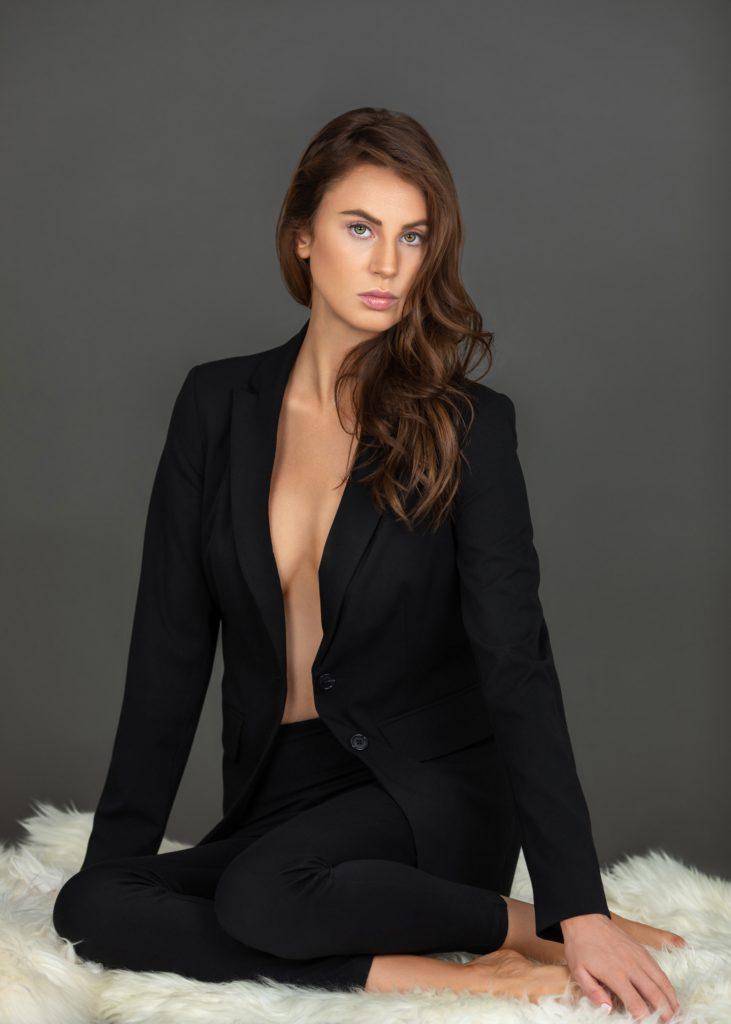 Simply Serene Sitting On Fur