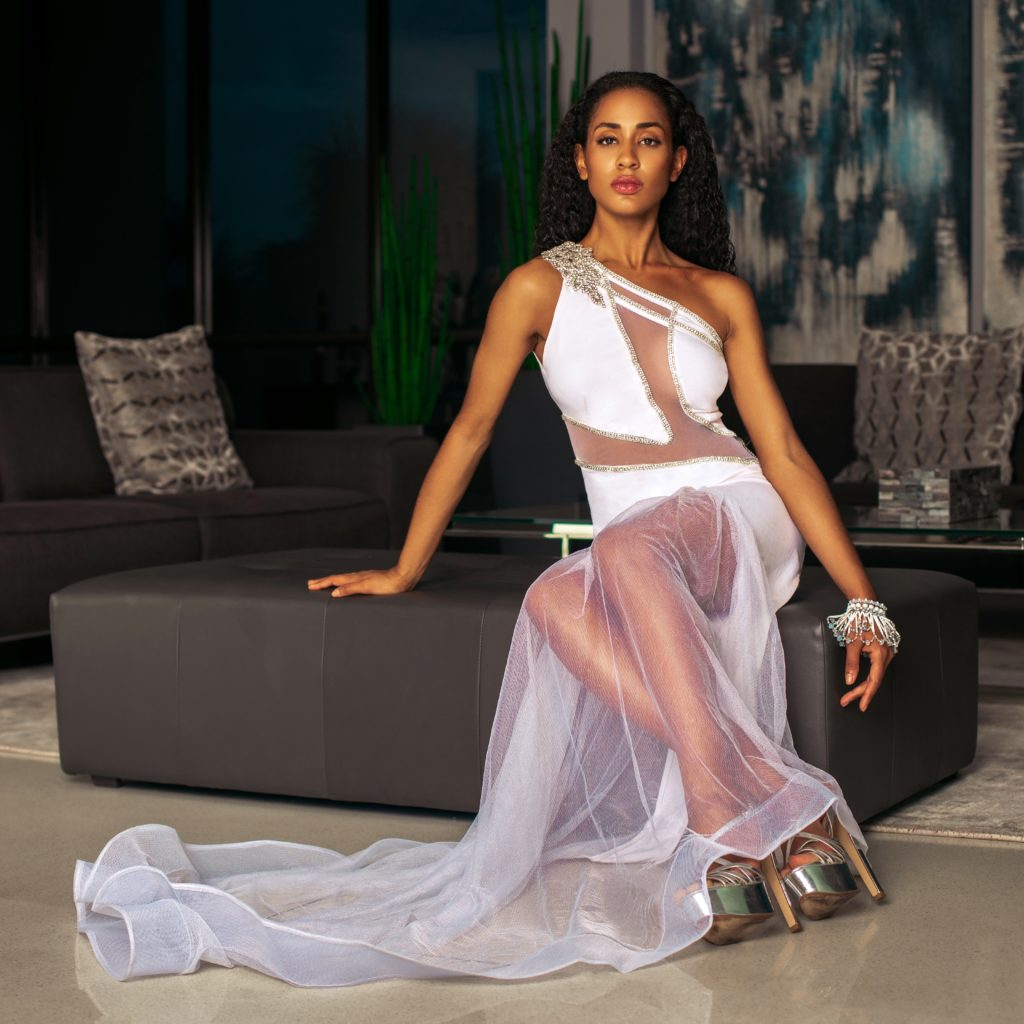 White Collection from Judith Barnes Fashion Designer